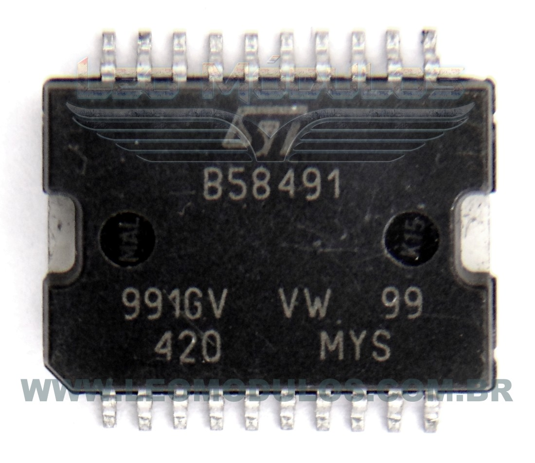 Bosch B58491 ST B58491 - Componente conserto de ECU Drive Leo Módulos