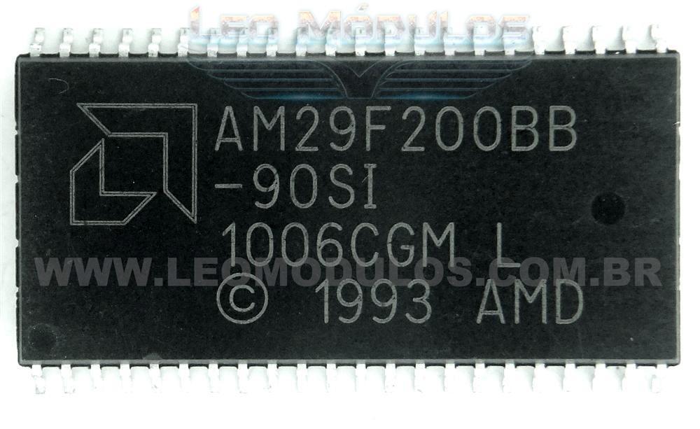Eprom AMD ST 29F200 PSOP44 - Componente de ECU Leo Módulos