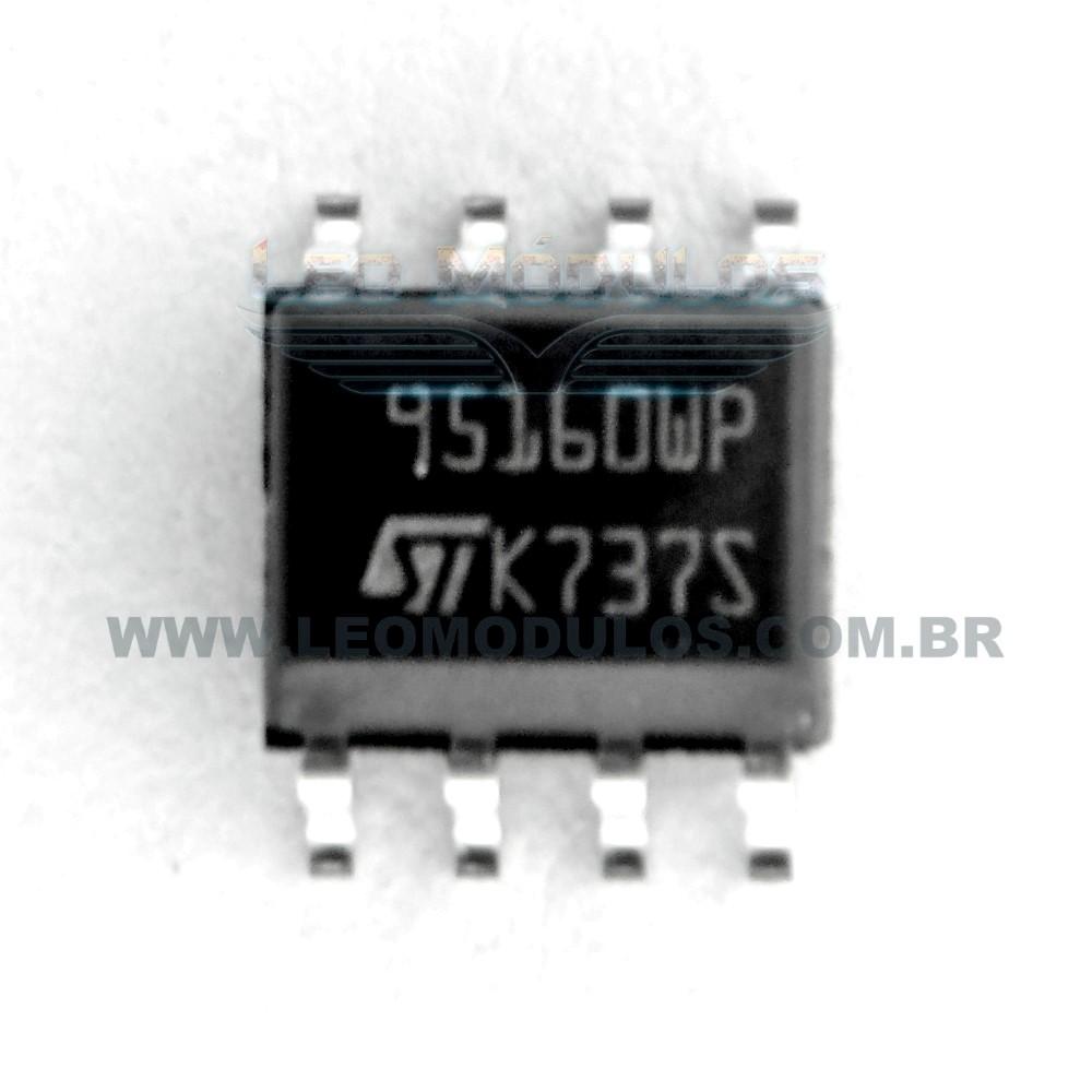 Eprom ST 95160 SOIC8 - Componente de ECU Leo Módulos