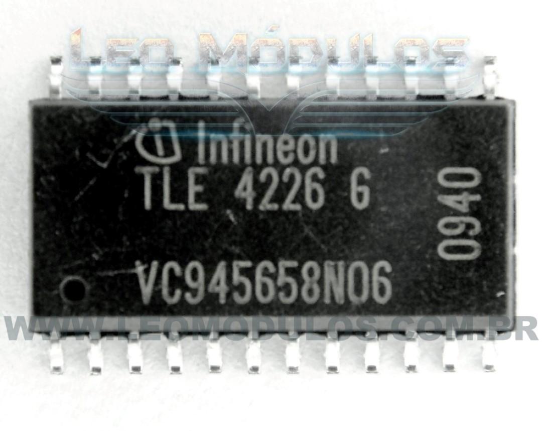 Infineon TLE4216 TLE4226 Bosch Siemens B58290 - Componente conserto de ECU Drive