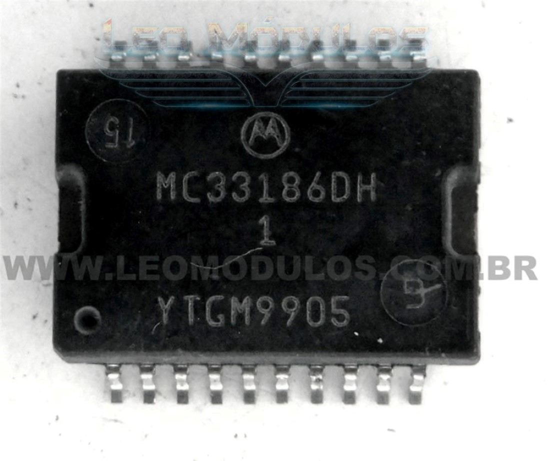 Infineon TLE7209-2R Bosch 30348 Motorola MC33186DH1 - Componente conserto de ECU Drive Leo Módulos