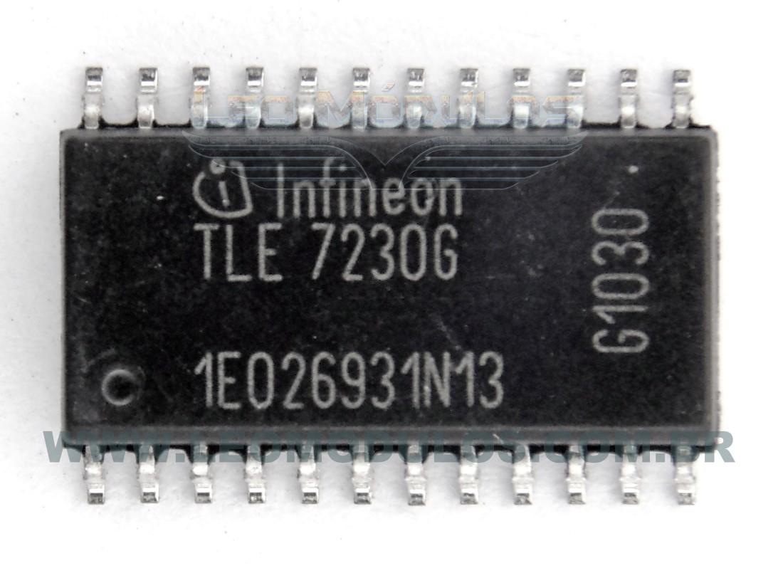 Infineon TLE7230G TLE 7230-G - Componente conserto de ECU Drive Leo Módulos