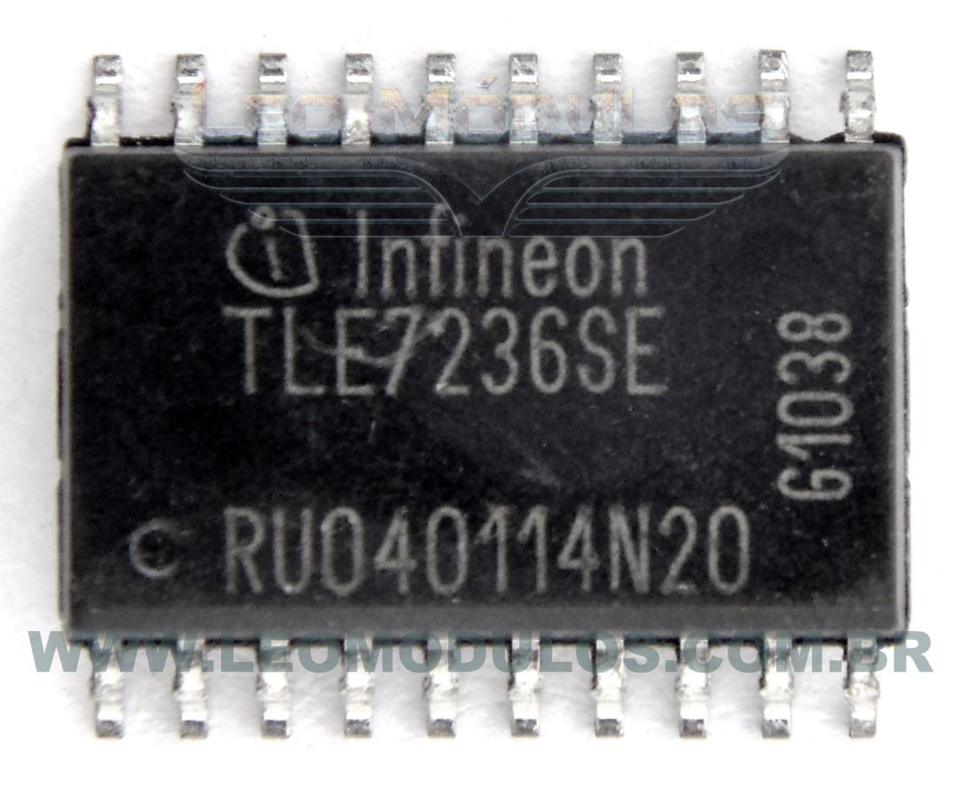 Infineon TLE7236SE TLE 7236-SE - Componente conserto de ECU Drive Leo Módulos