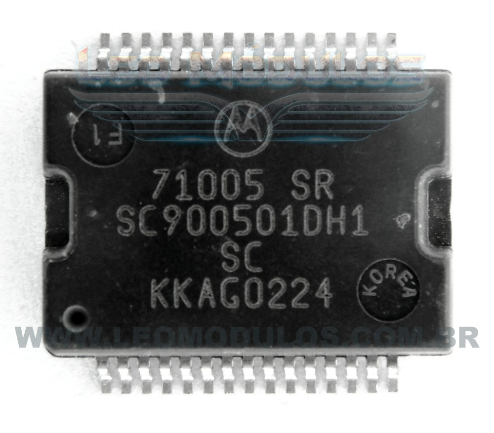 Motorola 71005SR SC2 SC900501CDH1 - Componente conserto de ECU Drive