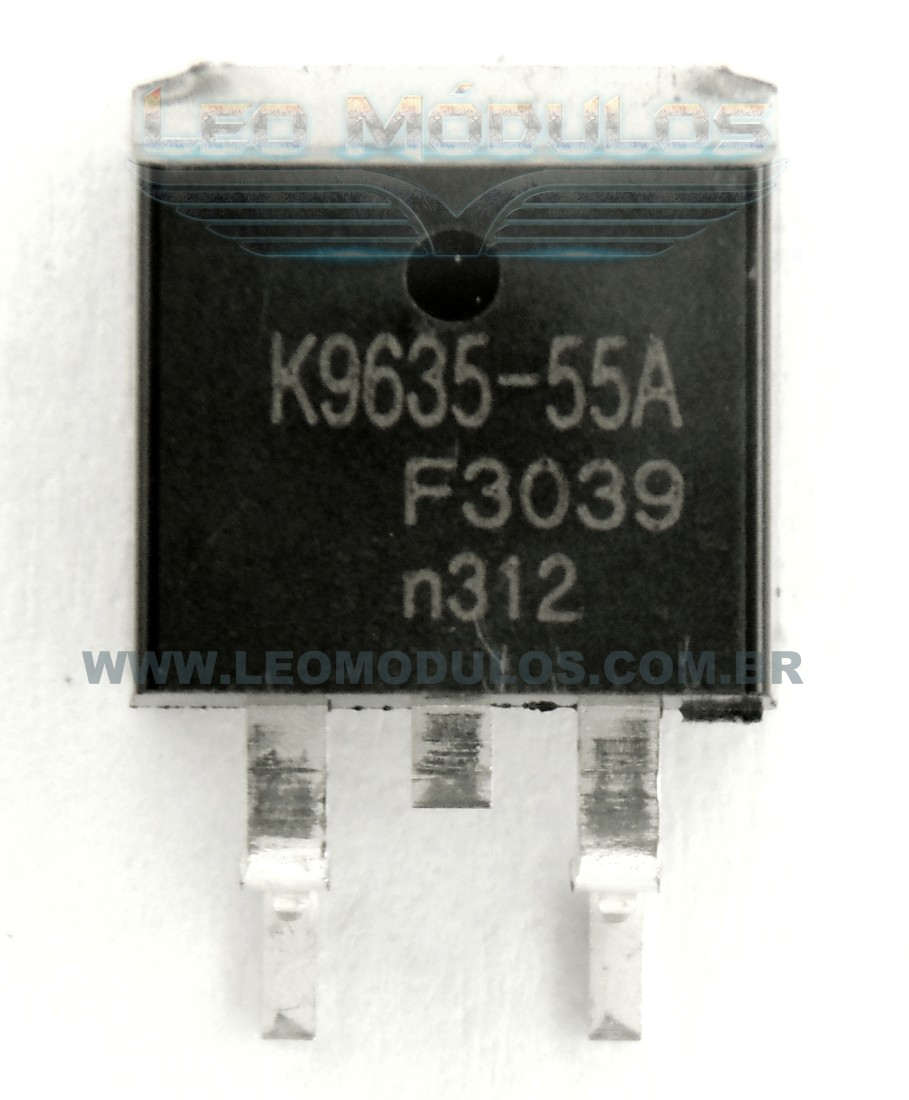 NXP Philips BUK9635-55A - Componente conserto de ECU Mosfet Leo Módulos