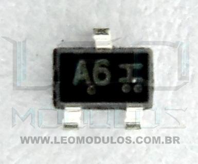 Mitsubishi Transistor A6 - Componente conserto de ECU Drive Leo Módulos