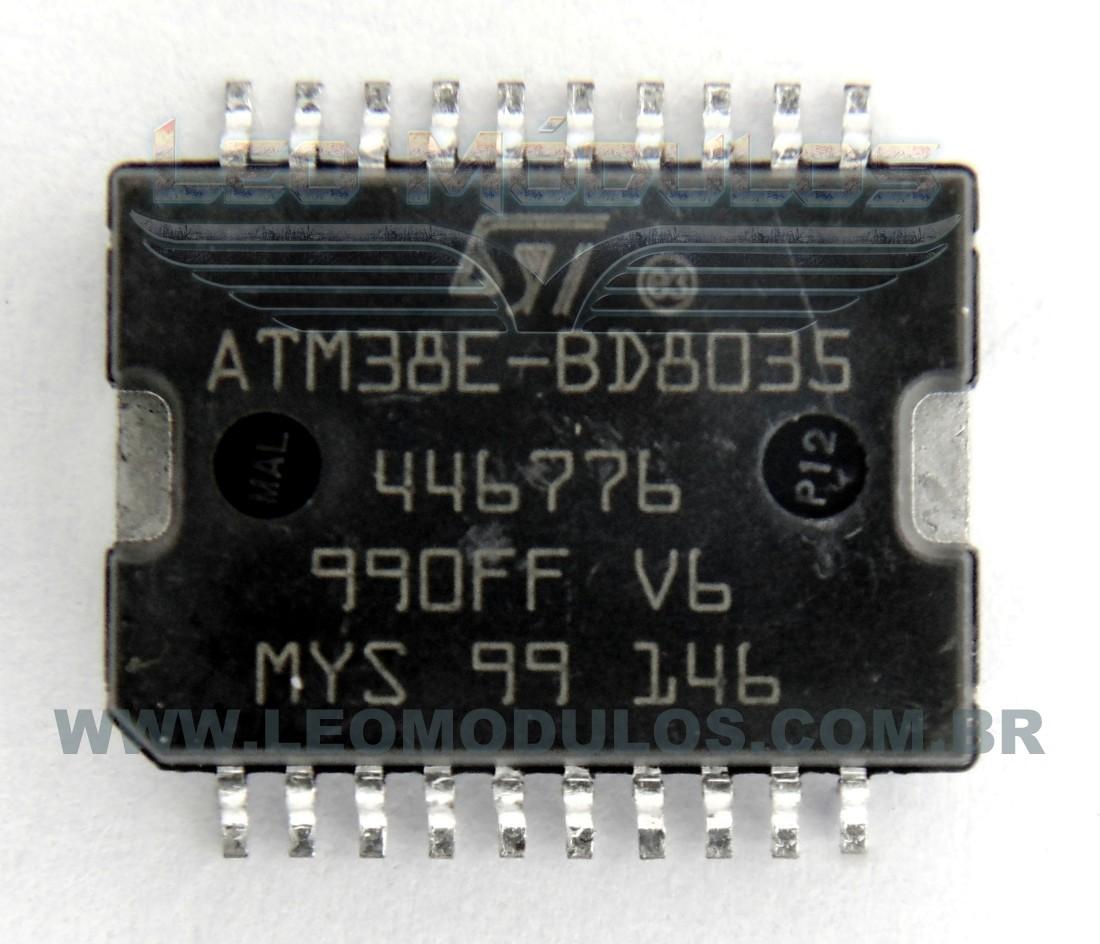 ST ATM38E-BD8035 - Componente conserto de ECU Drive Leo Módulos
