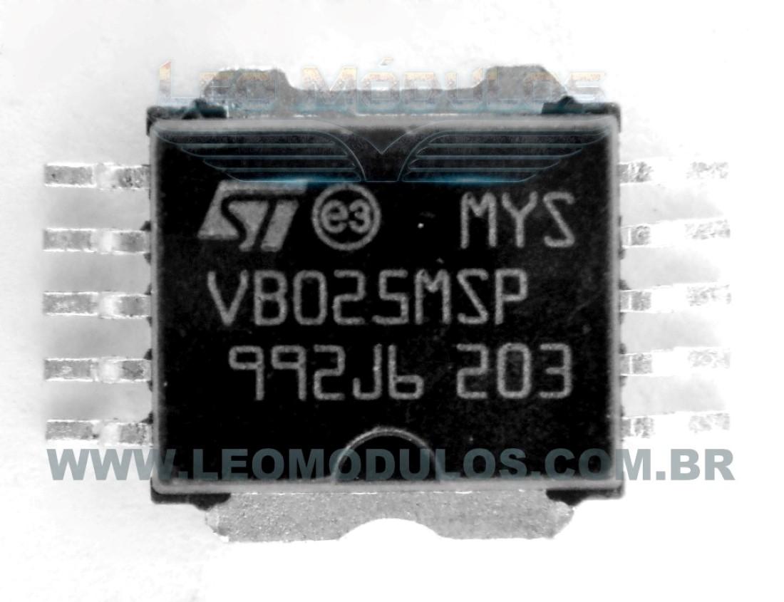 ST VB025MSP (VB025 MSP) - Componente conserto de ECU Drive Leo Módulos