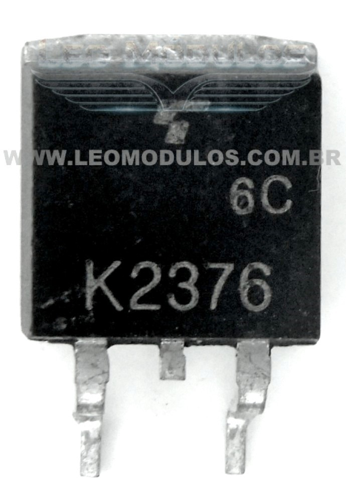 Toshiba 2SK2376 (K2376) - Componente conserto de ECU Drive Leo Módulos