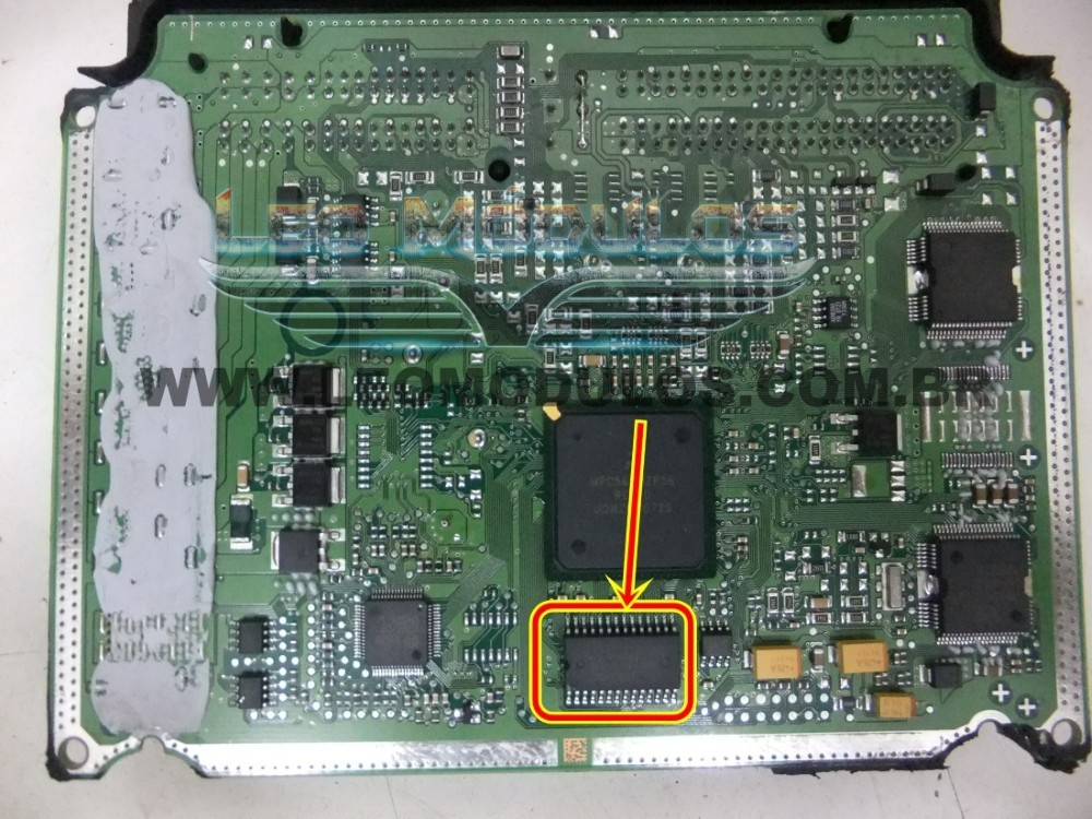 Bosch 30520 EDC16 Iveco - Componente conserto de ECU Drive Leo Mu00f3dulos.
