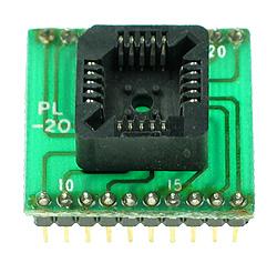 Adaptador PLCC20>>DIP20 Ler e Gravar (Simples)