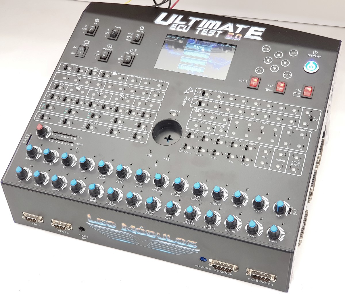 Simulador de Módulo de Injeção - Ultimate ECU Test 2.0