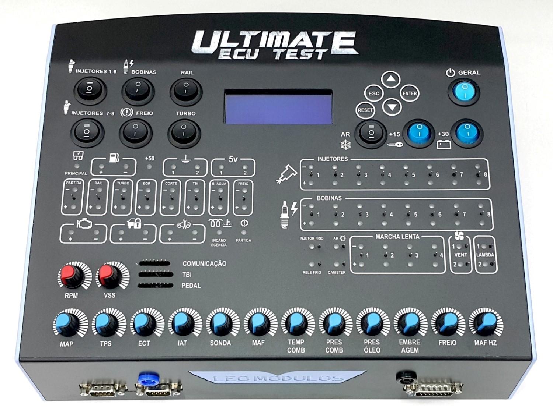 Simulador de Módulos - Ultimate ECU Test 1 1 leo módulos