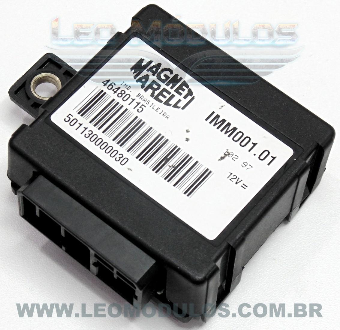 Imobilizador Fiat Caixinha Preta - 49480115 - IM001.01 Immo - Leo Módulos