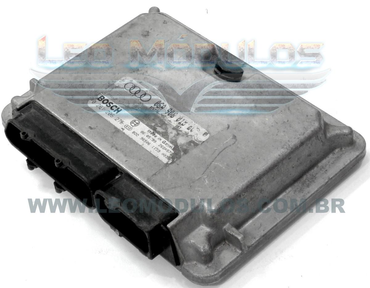 Módulo de injeção bosch M3.8.3 - 0261206275 - 06A906018EC - Audi A3 1.8 20V - 0 261 206 275 - Leo Módulos