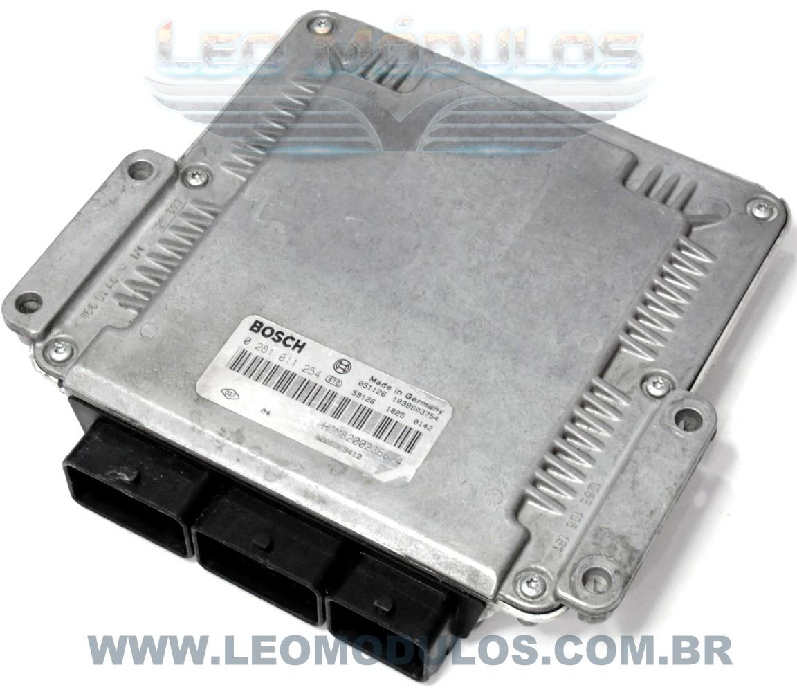 Módulo de injeção Diesel - 0281011254 8200236624 - Renault Master Diesel - Leo Módulos