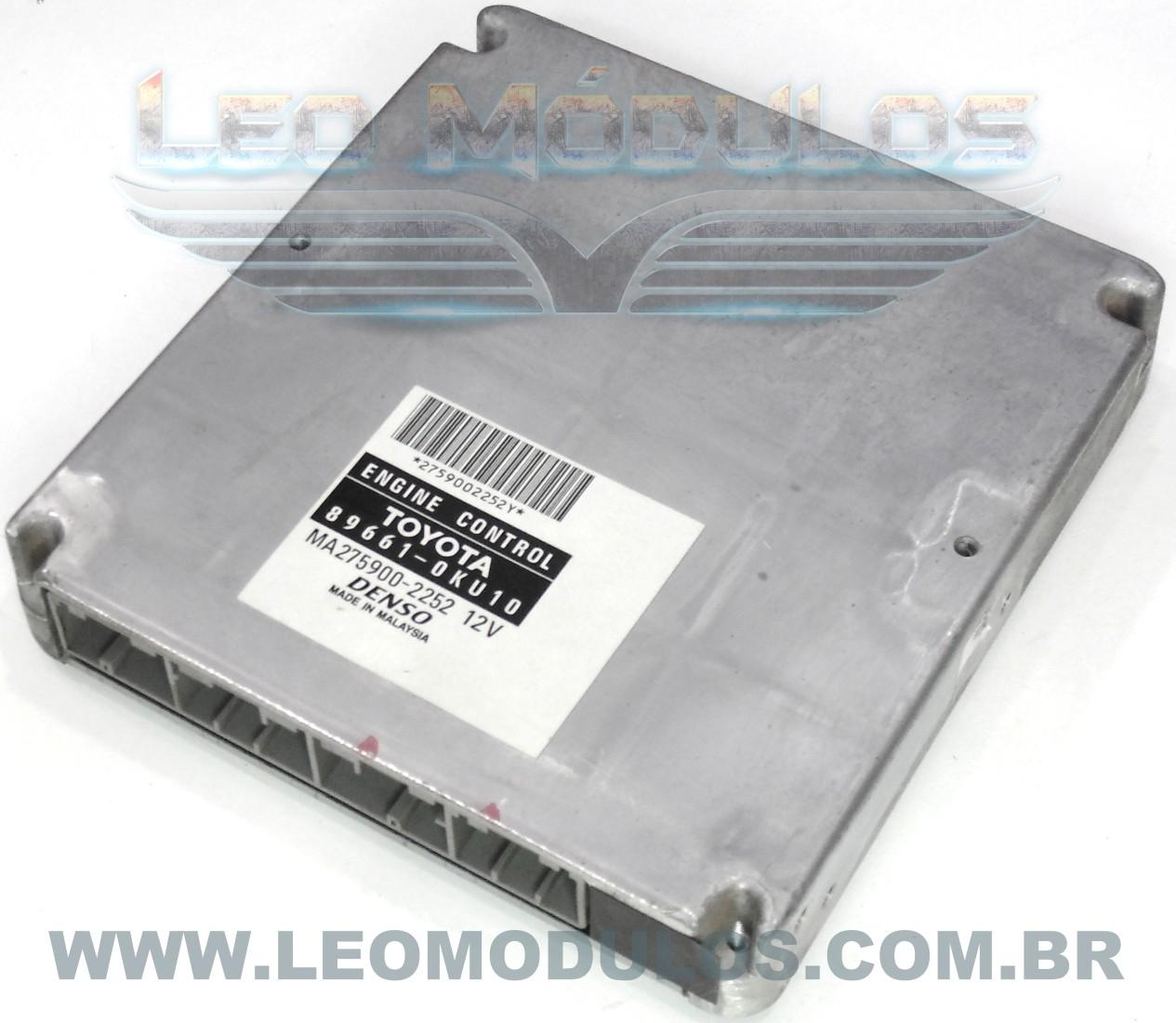 Módulo de injeção Diesel - 89661-0KU10 MA275900-2252 - Hilux SW4 3.0 TDI - Leo Módulos