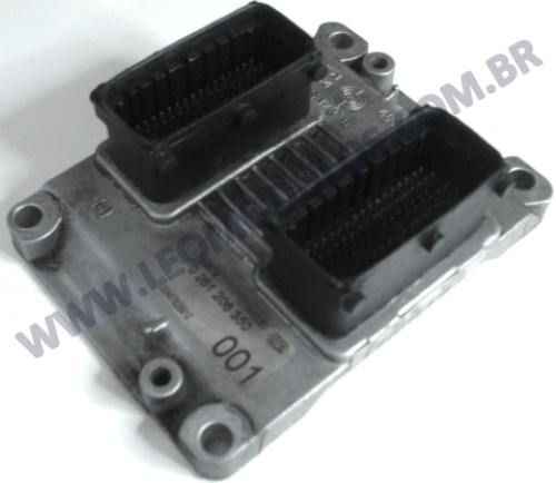 Módulo de injeção bosch M3.1 - 0261206350 - 00467826910 46782691 - Fiat Marea 2.4 20V - 0 261 206 350 - Leo Módulos