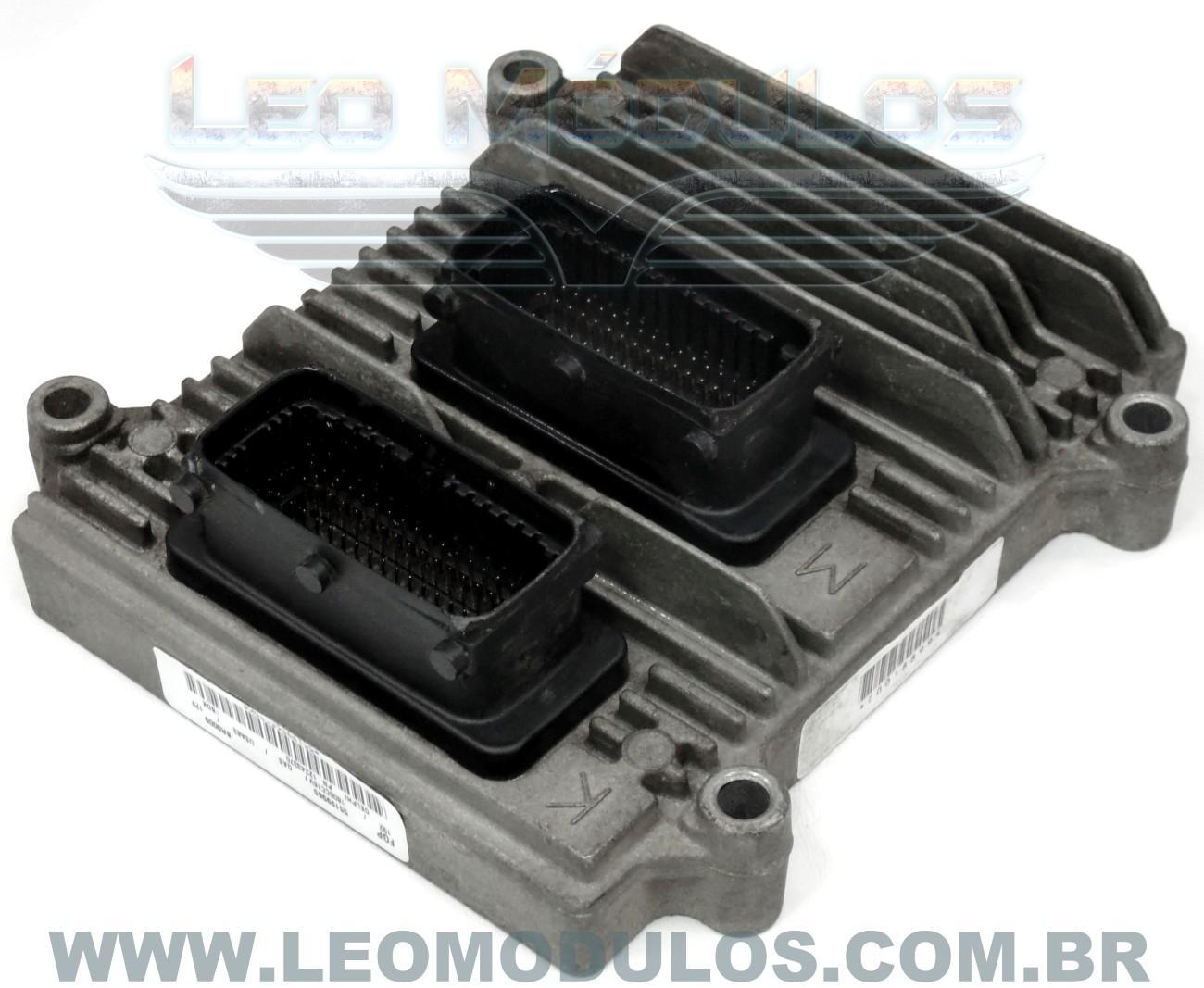 Módulo de injeção multec HSFI 2.3 - FBDK 55199965 - Fiat Stilo 1.8 16V - FBDK - Leo Módulos