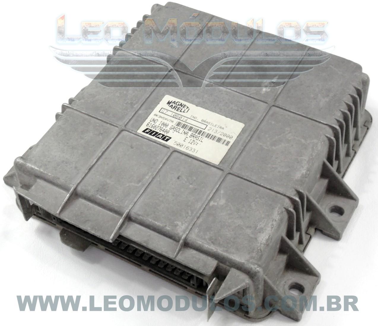 Módulo de injeção marelli - G7.10B014 - 6160276400 - Fiat Uno 1.0 8V Gasolina - G710B014 - Leo Módulos