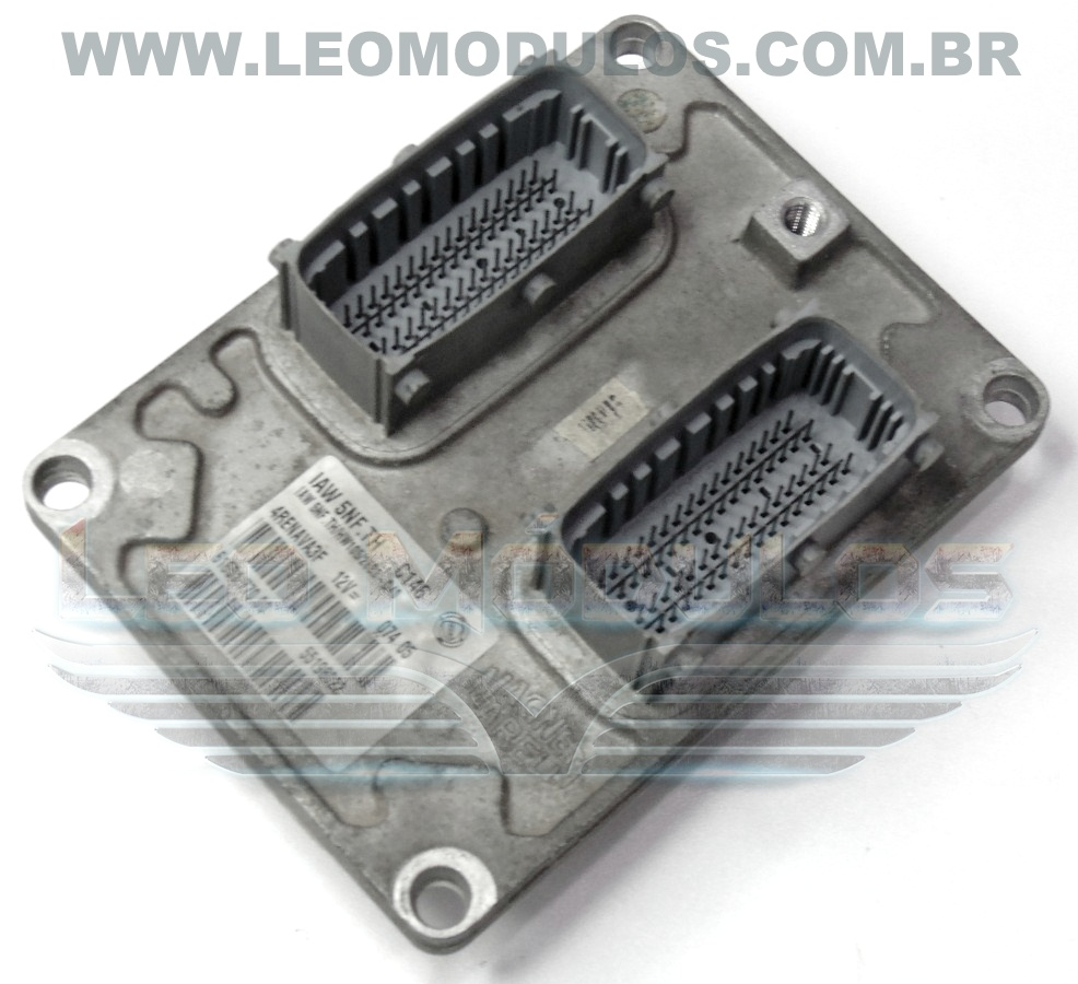 Módulo de injeção marelli - IAW 5NF.TH - 55198022 - Fiat Doblo 1.8 8V - 61601.770.00 IAW 5NFTH - Leo Módulos