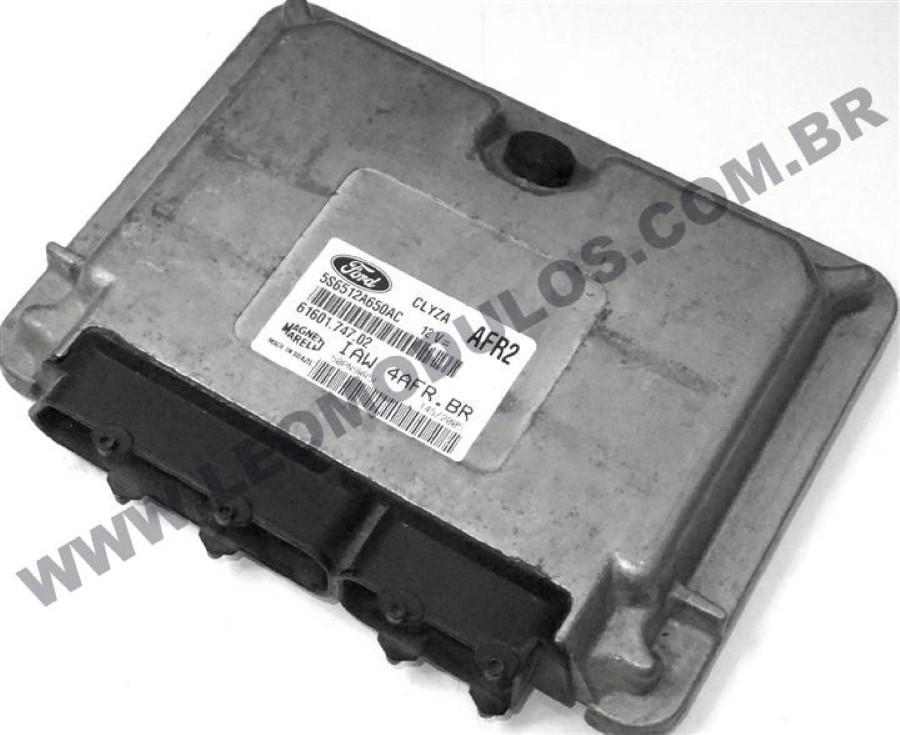 Módulo de injeção marelli - IAW 4AFR.BR AFR2 - 5S6512A650AC - Ford Fiesta 1.6 Flex - IAW 4AFRBR - Leo Módulos