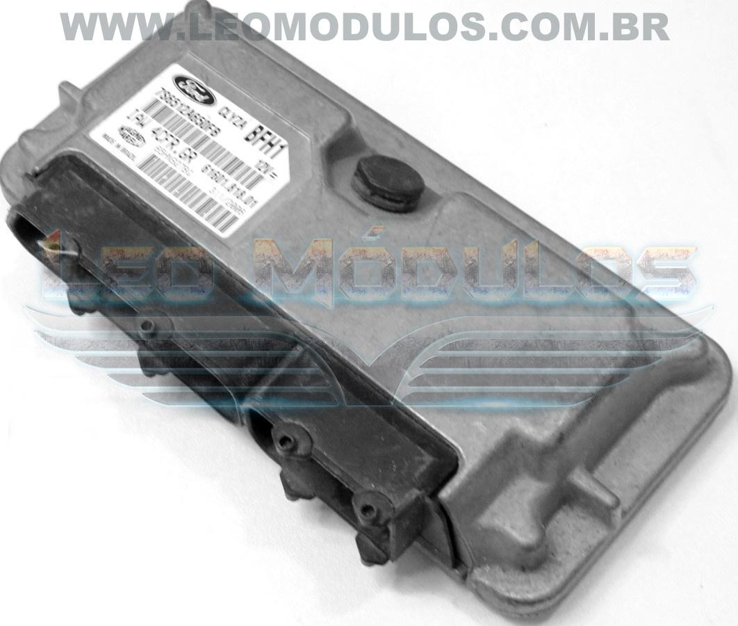 Módulo de injeção marelli - IAW 4CFR.GR BFH1 - 7S6512A650FB - Ford Fiesta 1.6 Flex - IAW 4CFRGR - Leo Módulos