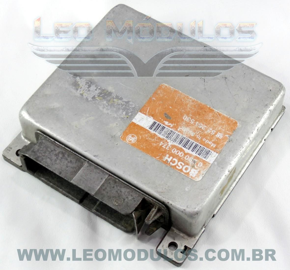 Módulo de injeção bosch - 0280000374 52251530 - Chevrolet Monza 500 Classic 2.0 8V - 0 280 000 374 - Leo Módulos