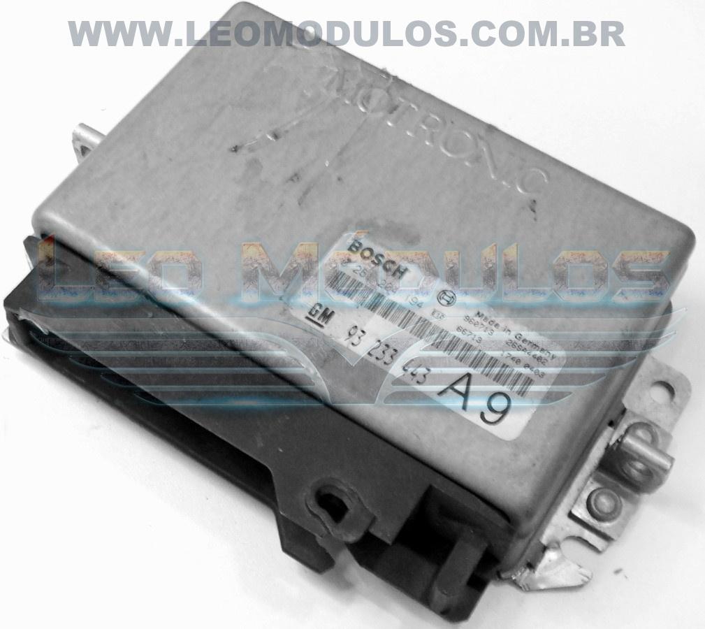 Módulo de injeção bosch M1.5.4 - 0261204194 A9 93233443 - Chevrolet Vectra 2.0 8V - 0 261 204 194 - Leo Módulos