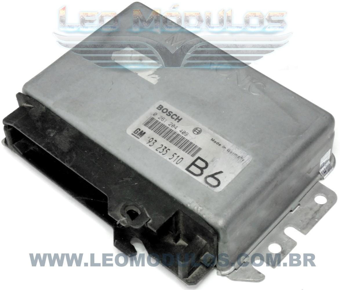Módulo de injeção bosch M2.8 - 0261204409 B6 93235510 - Chevrolet Omega Silverado 4.1 - 0 261 204 409 - Leo Módulos