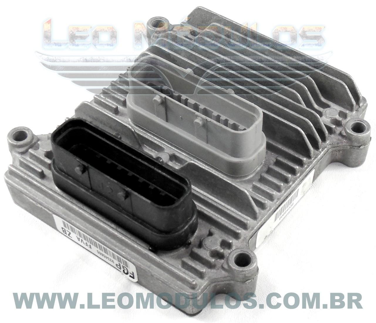 Módulo de injeção multec H - FFVA ZB 93345865 - Chevrolet Prisma 1.4 8v Flex - FFVA ZB - Leo Módulos