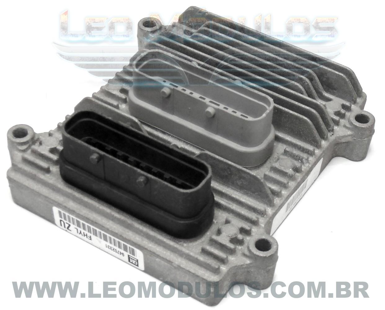 Módulo de injeção multec H - FHYL ZU 94702331 - Chevrolet Celta 1.0 8V Flex - FHYL ZU - Leo Módulos
