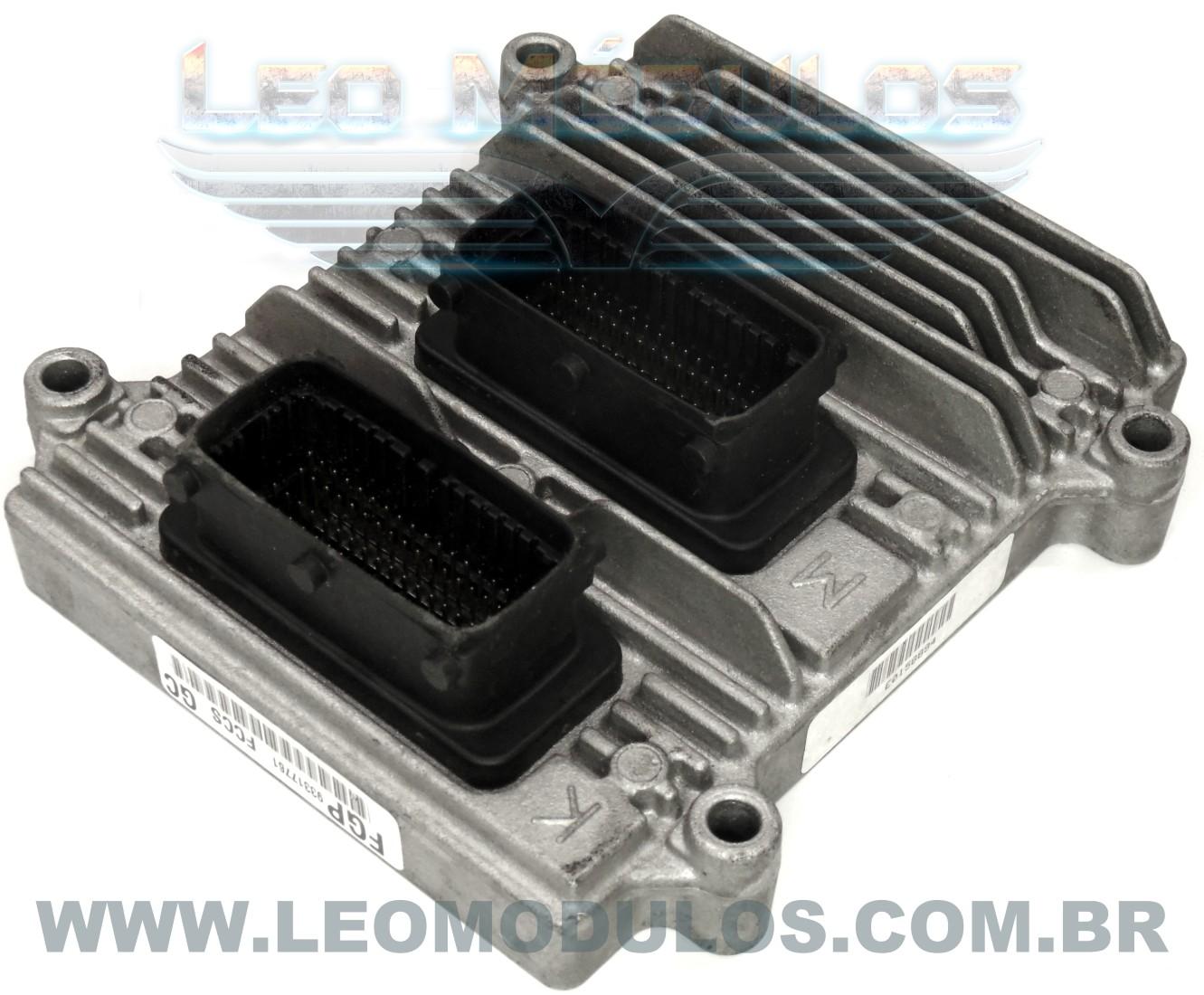 Módulo de injeção multec HSFI 2.3 - FCCS GC 93317761 - Chevrolet Montana 1.8 8V Flex - FCCS GC - Leo Módulos
