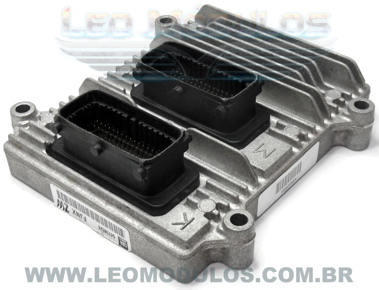 Módulo de injeção multec HSFI 2.3 - FJNX ZW 94706526 - Chevrolet Celta Prisma 1.0 Flex VHCE - FJNX ZW - Leo Módulos