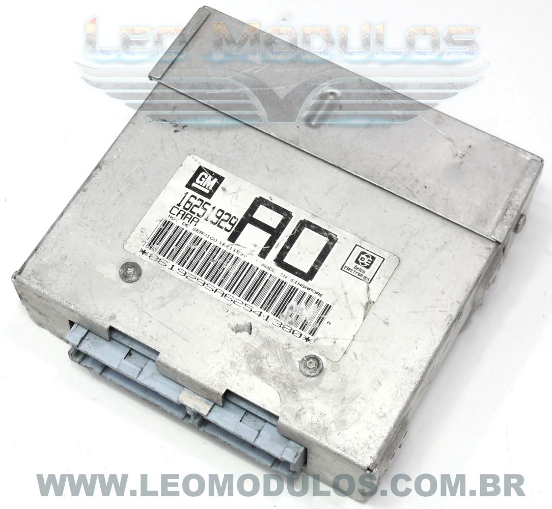Módulo de injeção multec - CAAA AO 16251929 16211530 - Chevrolet Corsa MPFI 1.6 8V - CAAA AO - Leo Módulos