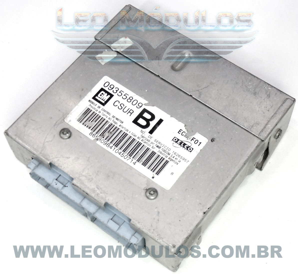 Módulo de injeção multec - CSUR BI 09355809 16265957 - Chevrolet Corsa MPFI 1.6 8V - CSUR BI - Leo Módulos