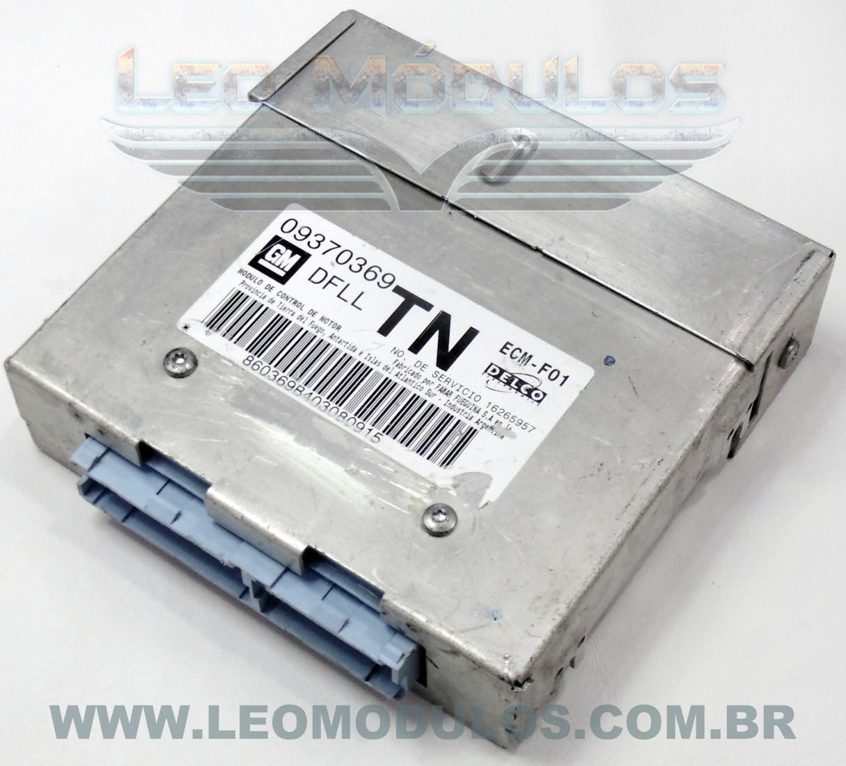 Módulo de injeção multec - DFLL TN 09370369 16265957 - Chevrolet Corsa MPFI 1.0 8V Álcool - DFLL TN - Leo Módulos