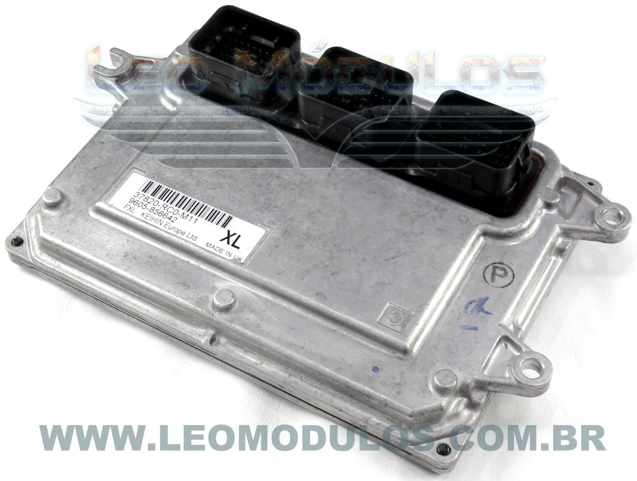 Módulo de injeção keihin - 37820RC0M11 XL - Honda Fit 1.4 16V - 37820-RC0-M11 - Leo Módulos