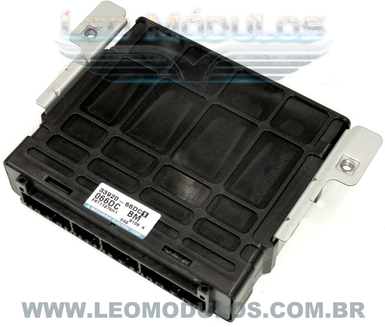 Módulo de injeção - 33920-66DC1 066DC BM E6T11275H1 - Suzuki Grand Vitara 1.6 16V - Leo Módulos