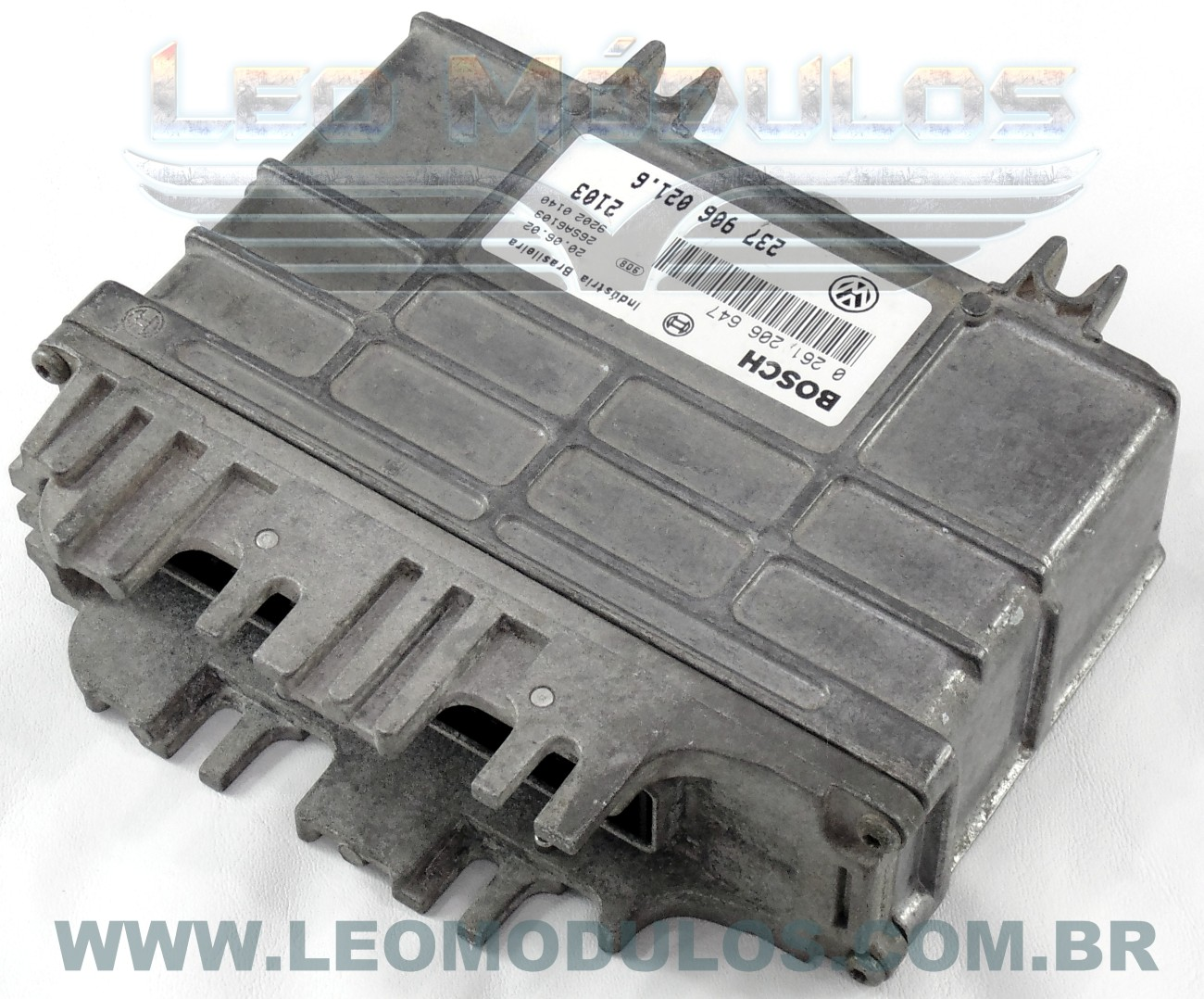 Módulo de injeção bosch MP9 - 0261206647 237906021.6 - Kombi 1.6 8V - 0 261 206 647 2379060216 - Leo Módulos