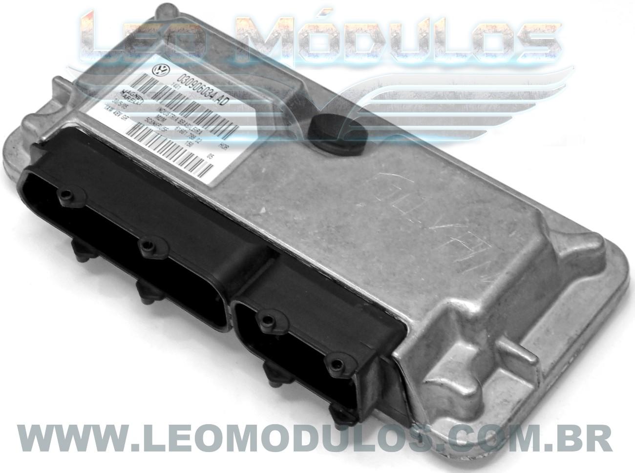Módulo de injeção marelli - IAW 4BV.GR 030906034AD - Gol 1.0 8V - 030906034.AD IAW 4BVGR - Leo Módulos