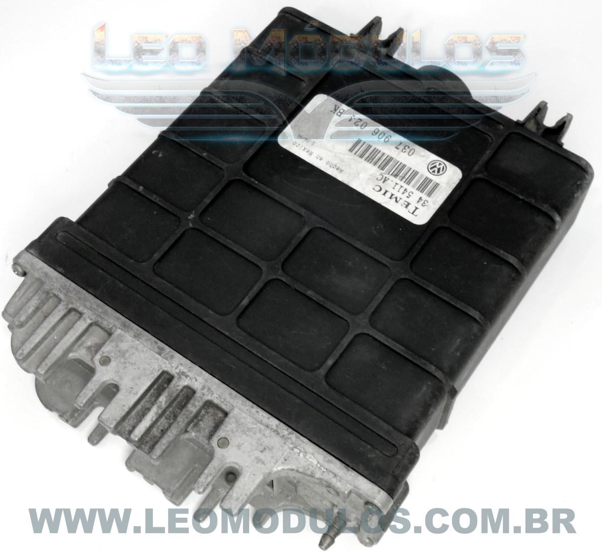 Módulo de injeção digifant 1.74 - 345411AC 037906024BK - Golf 2.0 8V - 34 5411.AC - Leo Módulos
