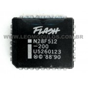Eprom AMD ST 28F512 29C512 PLCC32 - Componente de ECU Leo Módulos