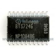 Infineon BTS724G BTS 724 G - Componente conserto de ECU Drive Leo Módulos
