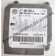 Módulo Air-Bag Siemens 5WK41630 377909603-A VW Parati Gol Fox - Leo Módulos