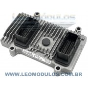 Módulo de injeção marelli - IAW 7GF.LA - 51880402 - Fiat Uno 1.0 8V Flex - BC.0107102.A IAW 7GFLA - Leo Módulos