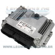 Módulo de injeção bosch ME7.9.20 - 0261S04438 FE - 23710 AZ62 - Nissan Livina 1.8 16V Flex Automático - 0 261 S04 438 - Leo Módulos