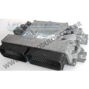 Módulo de injeção siemens EMS3134 - S118301141 A 8200461175 - Renault Clio 1.6 16V Flex EMS3134 - Leo Módulos