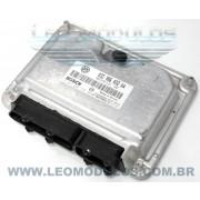 Módulo de injeção bosch ME7.5.10 - 0261208735 032906032AA - Fox Polo 1.6 8V Flex - 0 261 208 735 - Leo Módulos