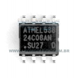 ST Atmel Fairchild - 24C08 - SOIC 8 - Flash EPROM